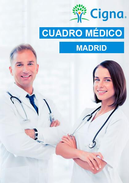 Cuadro Médico Cigna Privado Madrid 2021