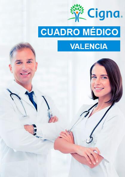 Cuadro Médico Cigna Privado Valencia 2021