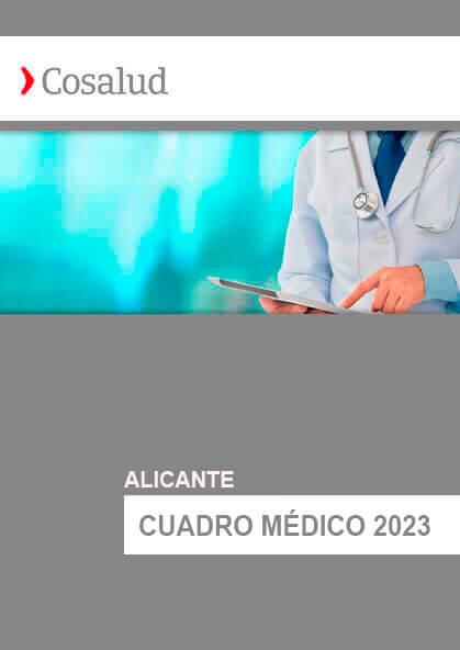 Cuadro médico Cosalud Alicante 2020