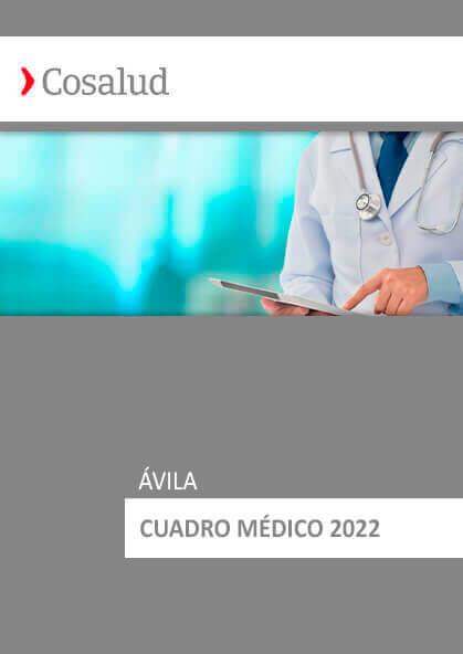 Cuadro médico Cosalud Ávila 2020