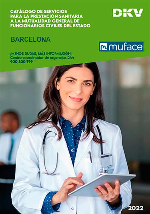 Cuadro médico DKV MUFACE Barcelona 2019