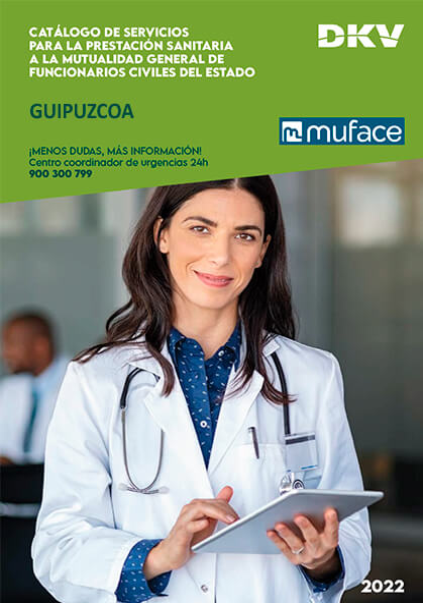 Cuadro médico DKV MUFACE Guipúzcoa 2019