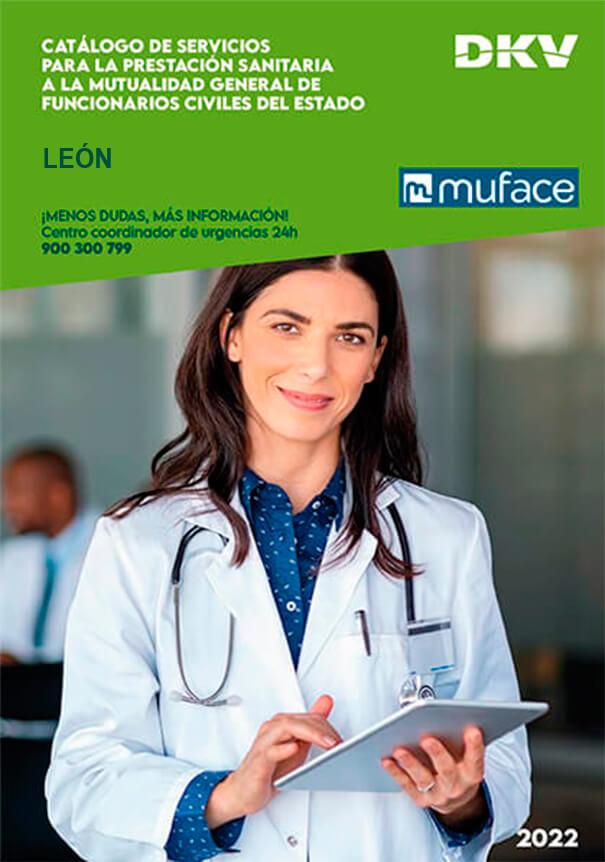 Cuadro médico DKV MUFACE León 2021