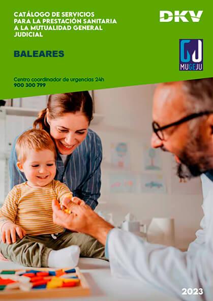 Cuadro médico DKV MUGEJU Islas Baleares 2020