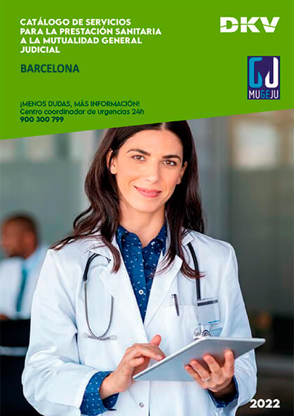 Cuadro médico DKV MUGEJU Barcelona 2019