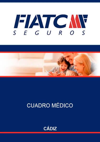 Cuadro médico Fiatc Cádiz 2019