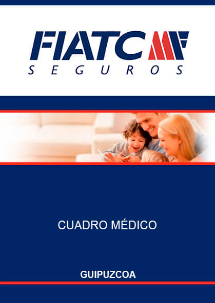 Cuadro médico Fiatc Guipúzcoa 2019