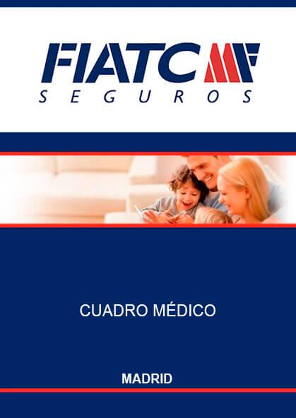 Cuadro médico Fiatc Madrid 2019