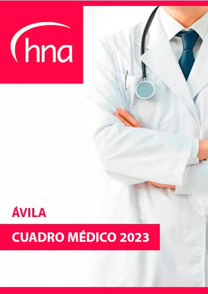 Cuadro médico HNA Ávila 2019