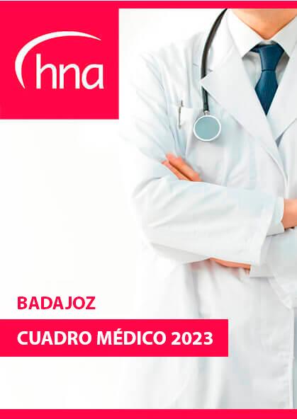 Cuadro médico HNA Badajoz 2019