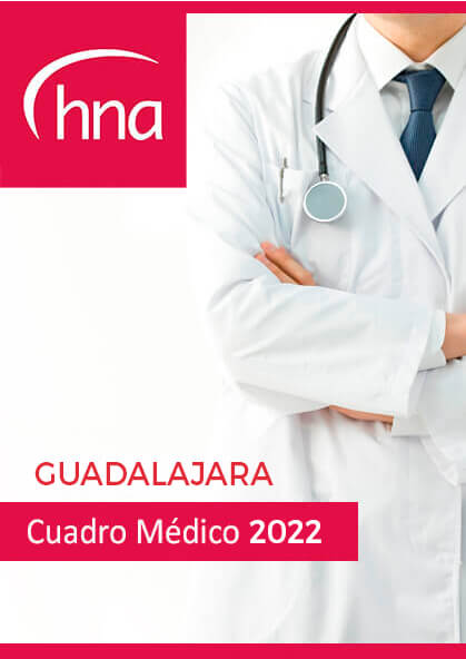 Cuadro médico HNA Guadalajara 2019