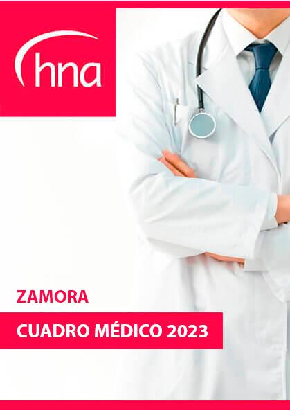 Cuadro médico HNA Zamora 2020