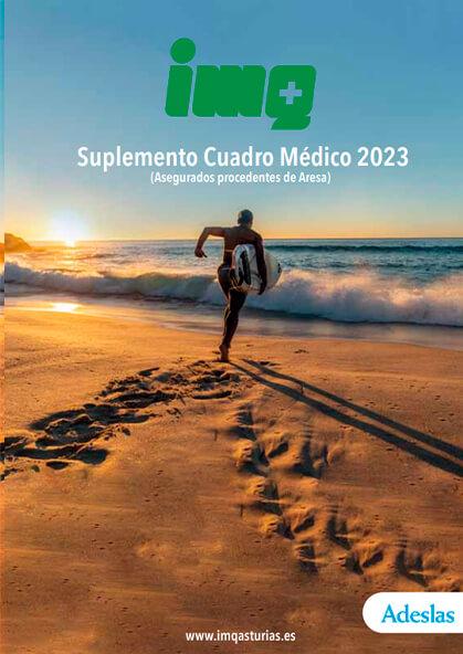 Cuadro médico Suplemento ARESA IMQ Asturias 2021