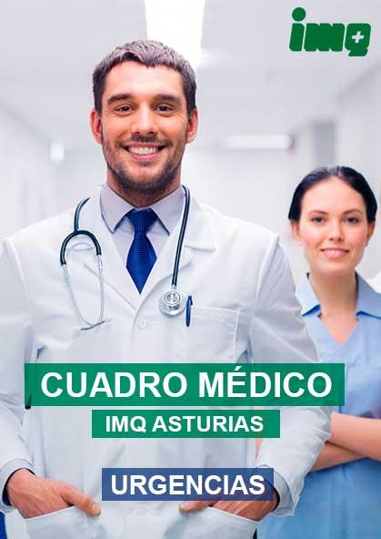 Cuadro médico Urgencias IMQ Asturias 2021