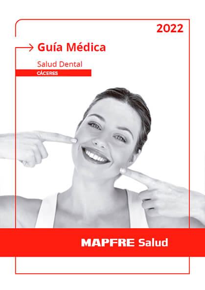 Cuadro médico Mapfre Dental Cáceres 2020 / 2021