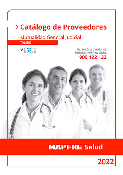 Cuadro médico Mapfre MUGEJU Toledo 2019 / 2020