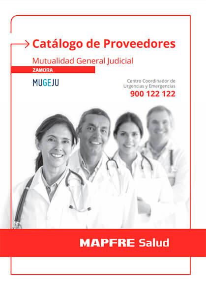 Cuadro médico Mapfre MUGEJU Zamora 2019 / 2020