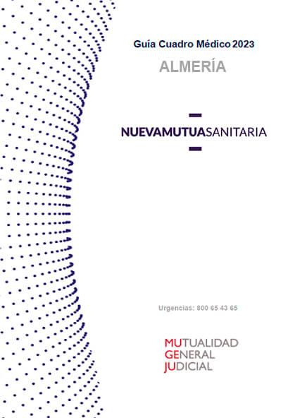 Cuadro médico Nueva Mutua Sanitaria (MUSA) MUGEJU Almería 2021