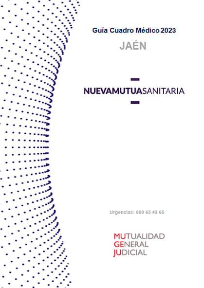 Cuadro médico Nueva Mutua Sanitaria (MUSA) MUGEJU Jaén 2021