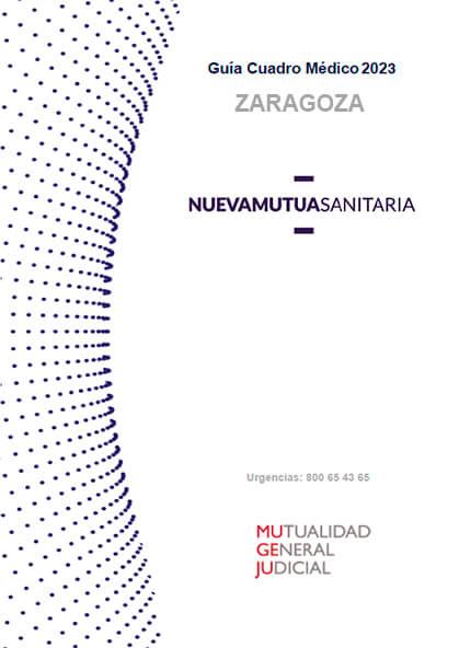 Cuadro médico Nueva Mutua Sanitaria (MUSA) MUGEJU Zaragoza 2021