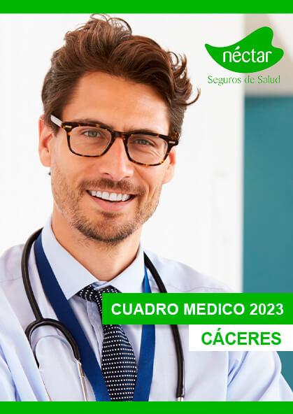 Cuadro médico Néctar Cáceres 2020