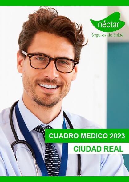 Cuadro médico Néctar Ciudad Real 2020