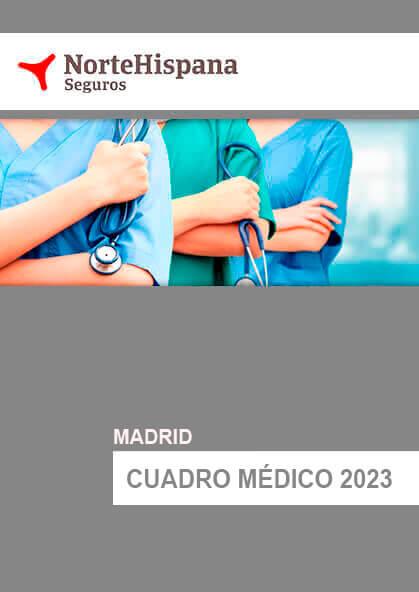 Cuadro médico NorteHispana Madrid 2019
