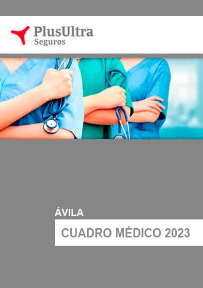 Cuadro médico Plus Ultra Ávila 2021