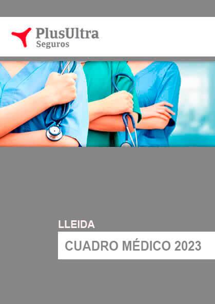 Cuadro médico Plus Ultra Lleida 2021