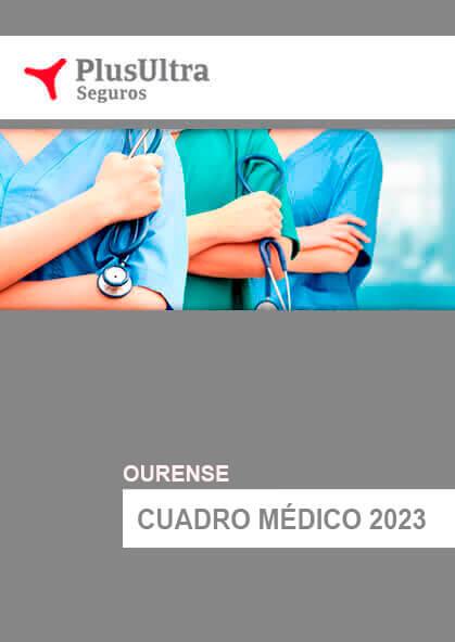 Cuadro médico Plus Ultra Ourense 2021