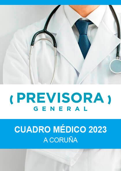 Cuadro médico Previsora General A Coruña 2020