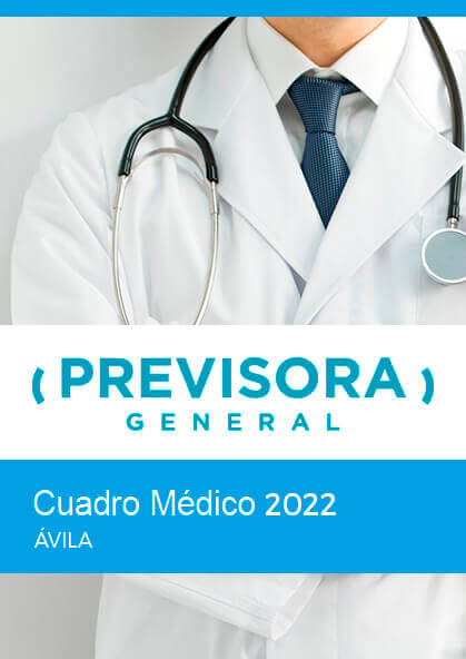 Cuadro médico Previsora General Ávila 2019