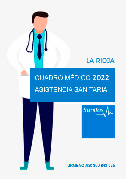 Cuadro médico Sanitas La Rioja 2021