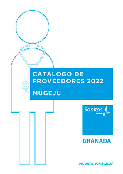 Cuadro médico Sanitas MUGEJU Granada 2021