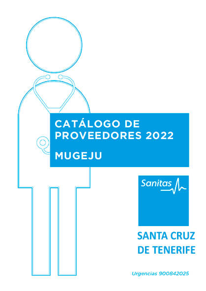 Cuadro médico Sanitas MUGEJU Santa Cruz de Tenerife 2021