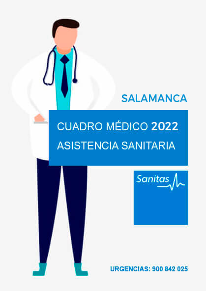 Cuadro médico Sanitas Salamanca 2021