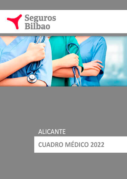 Cuadro médico Seguros Bilbao Alicante 2020