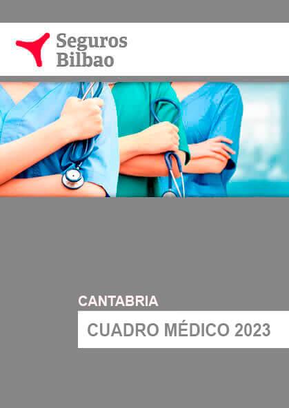 Cuadro médico Seguros Bilbao Cantabria 2020