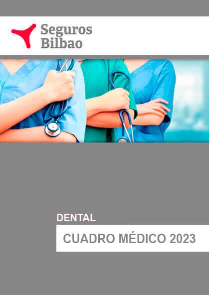 Cuadro médico Seguros Bilbao Dental 2019