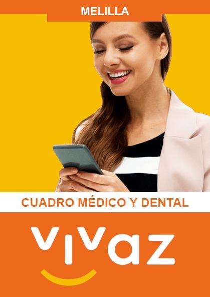 Cuadro médico Vivaz Melilla 2020